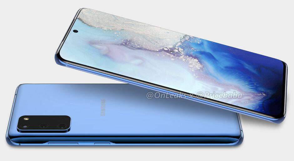 BOSGARREN MILA ordu miliampere Galaxy S11 +.  Samsung 120 Hz eta 5G-rako prest