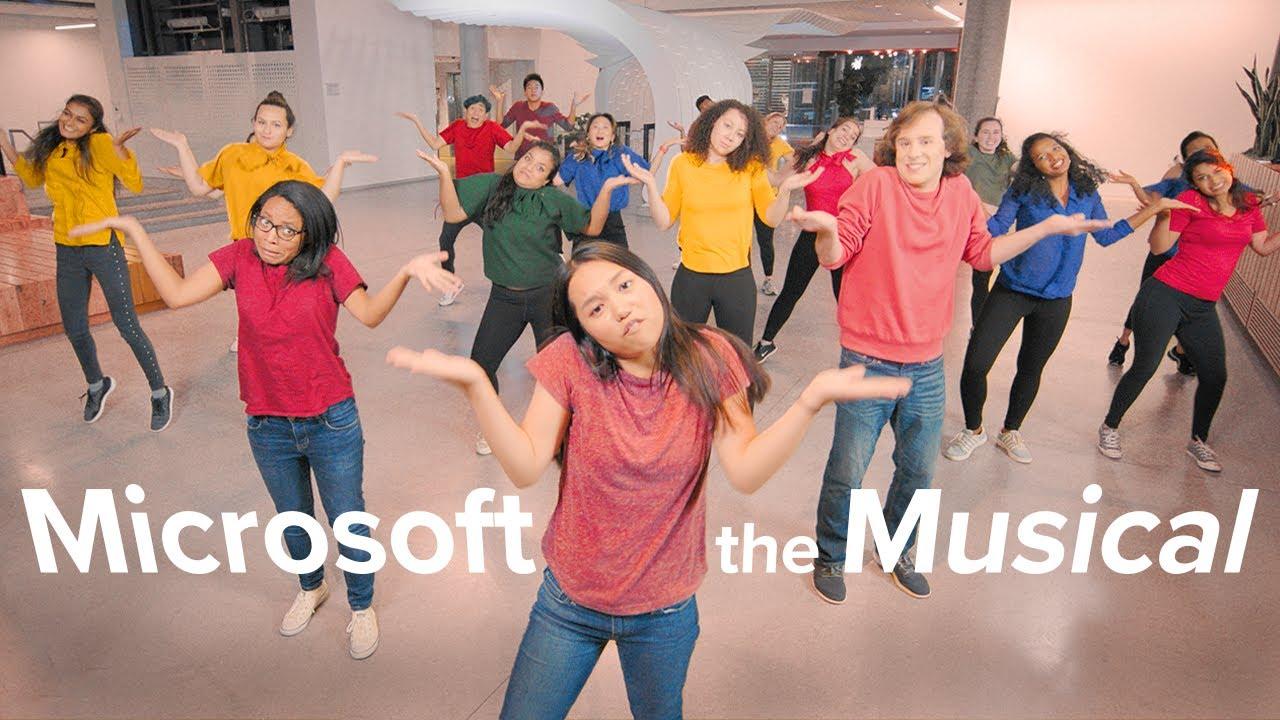 Barneko langileek Microsoft musika egin zuten