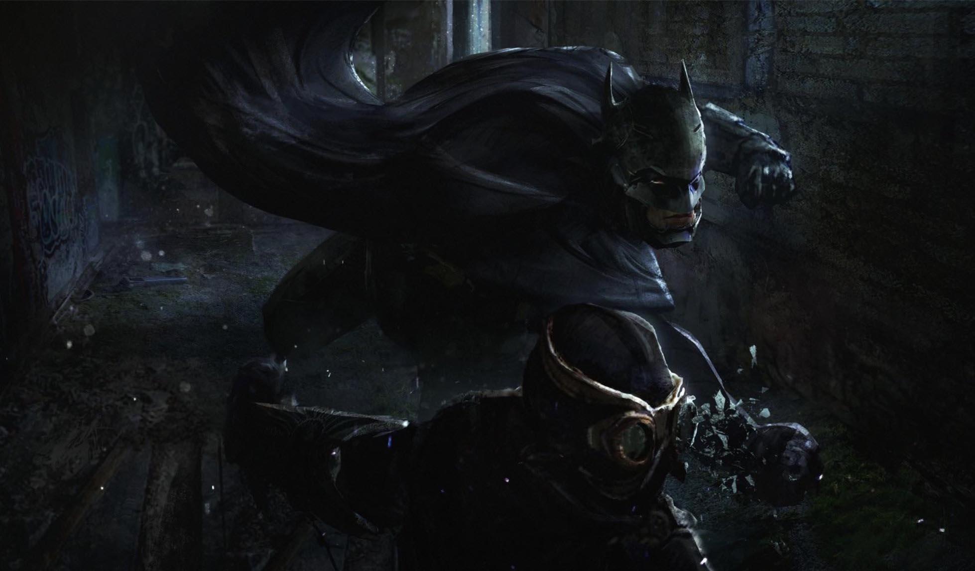 Batman Arkham joko berrirako eman den lehen seinalea
