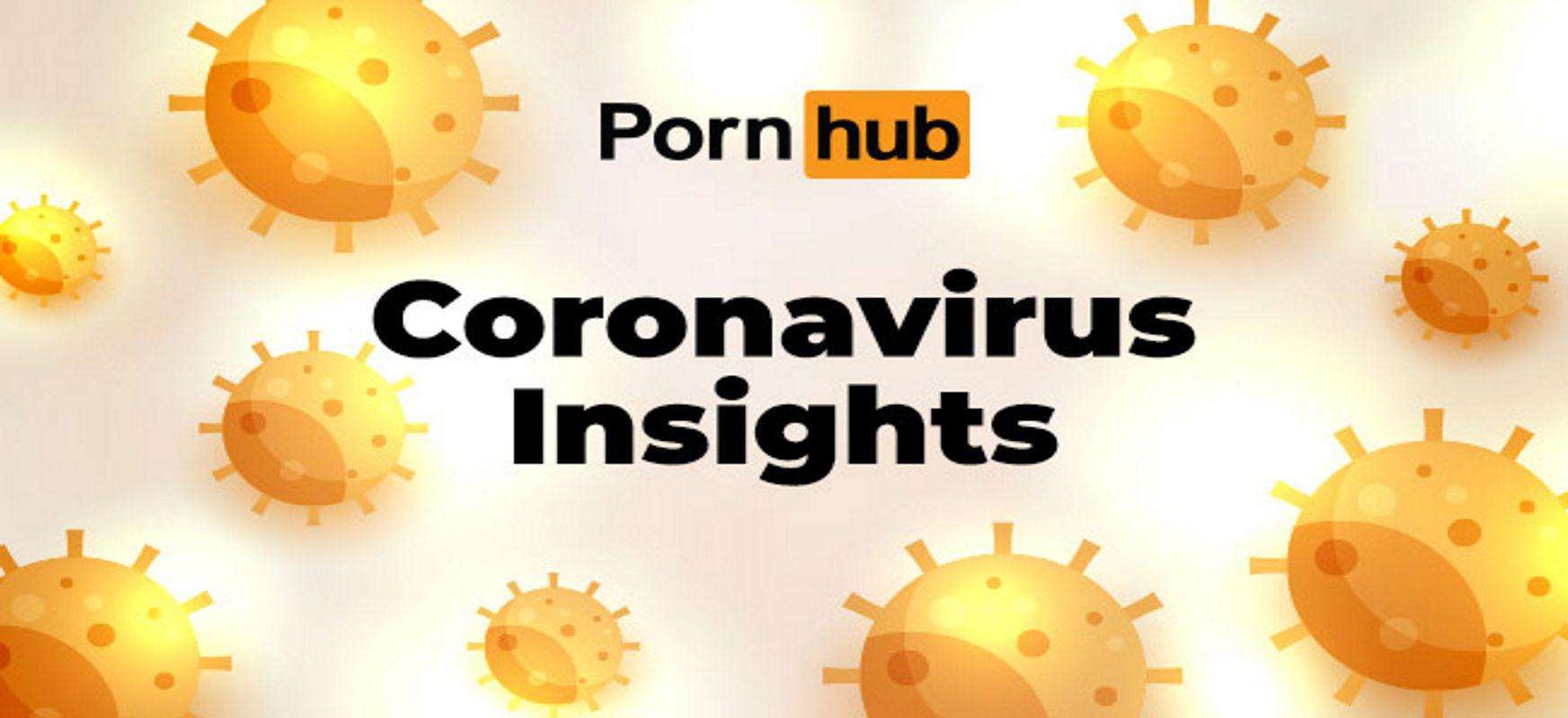 (Berdin) maitasuna izurrite garaietan.  Coronaporn bat agertzen da Pornhub-en