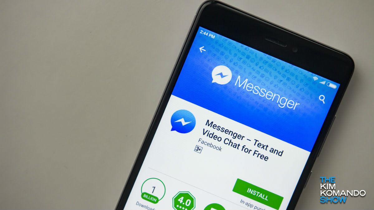 Berria Messengerrentzat? Facebook orain zure datu gehiago behar dira