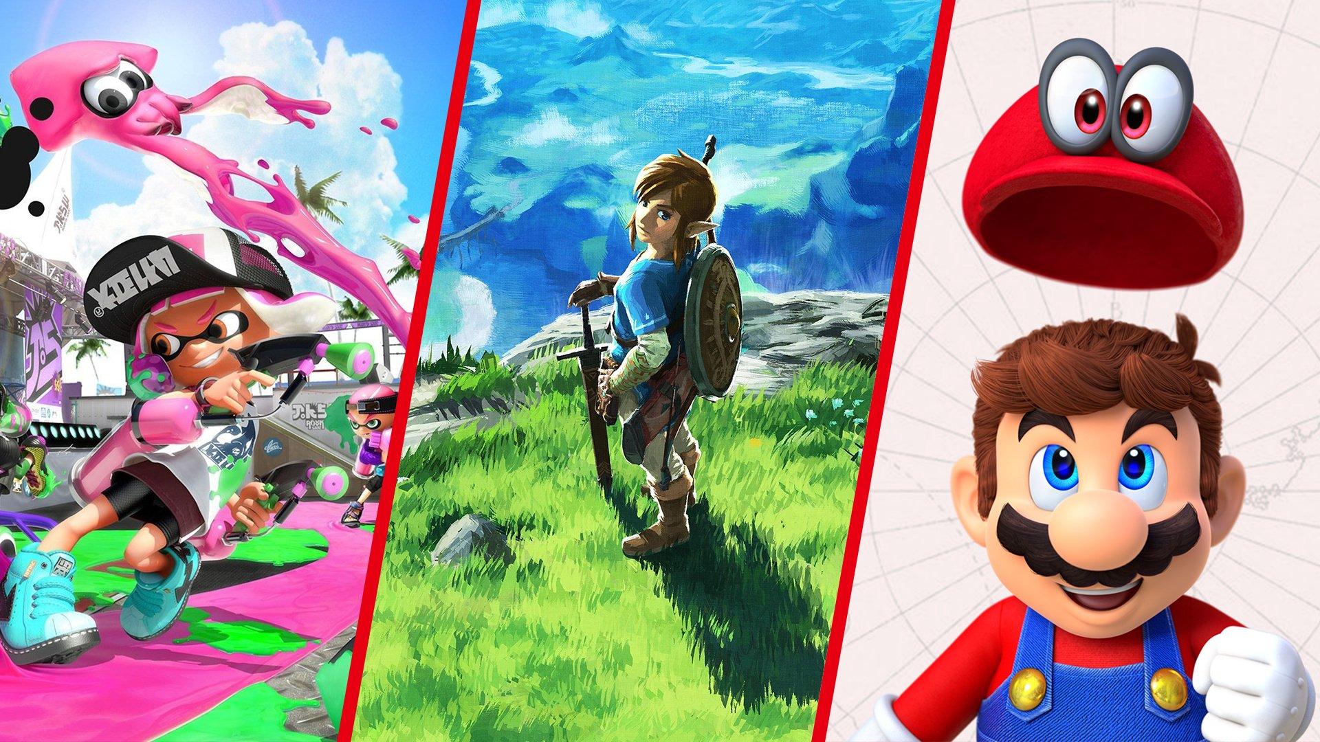 Berrogeietan jolastu dezakezun onena Nintendo Switch jokoak!
