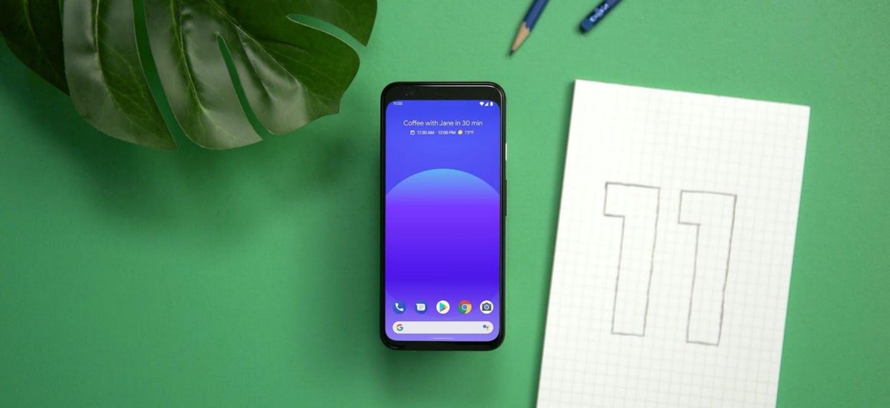Burbuila gehiago ikusiko ditugu.  Android 11n txinpartatu beharko dute