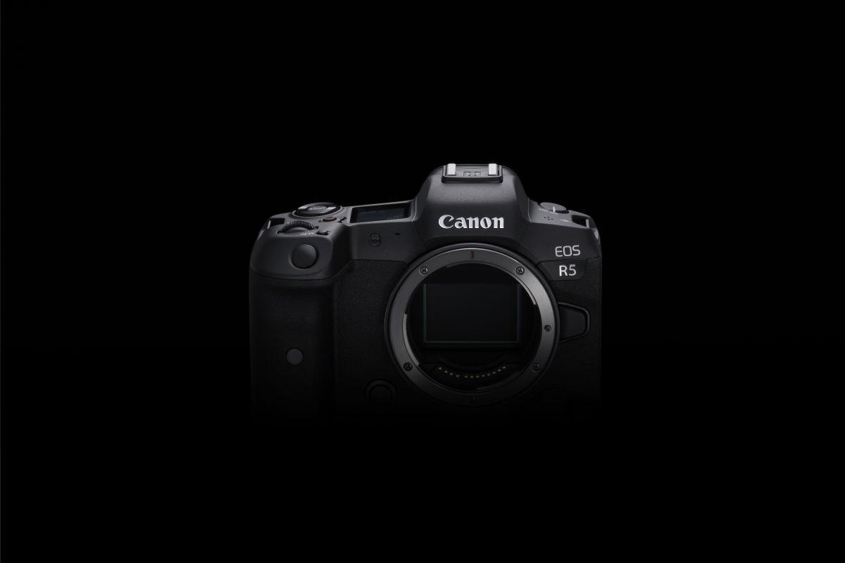 Canon EOS R5: 8K bideo bereizmenarekin