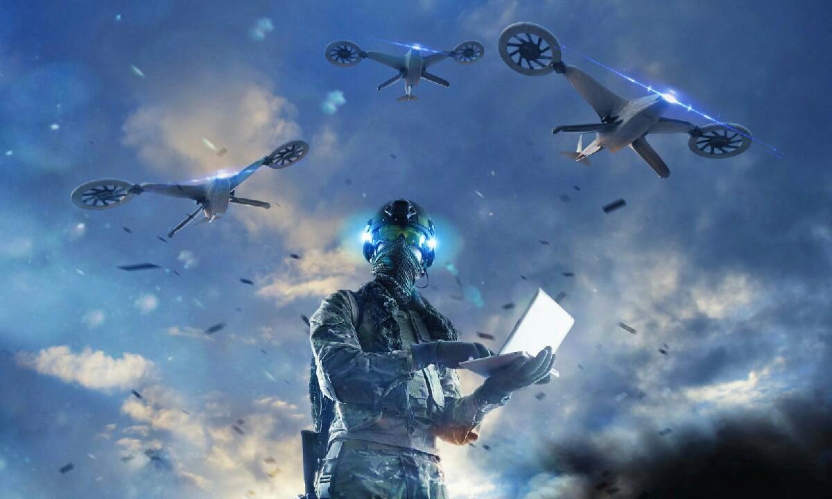 DARPA bideoak drone beldurgarriaren errealitatea erakusten du