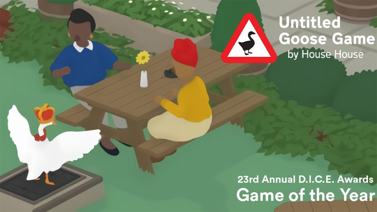 DICE Awards 2020: Untitled Goose Game urteko jokoa da