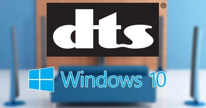 DTS Sound Unbound eskuragarri dago orain Windows 10 bertsio berriarekin bateragarria!