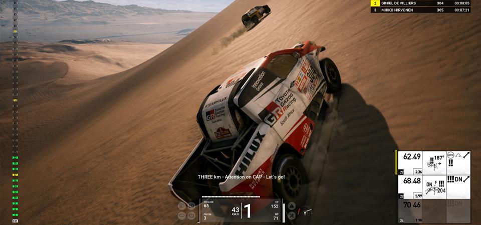 Dakar 18 dunak