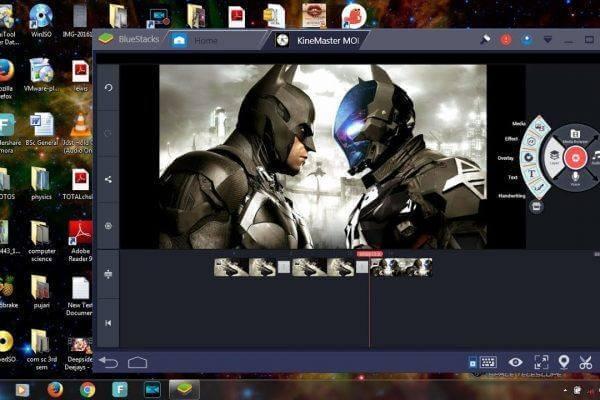 Deskargatu KineMaster Video Editor PCrako  Windows [10/8 / 8.1 / 7] Eta Mac