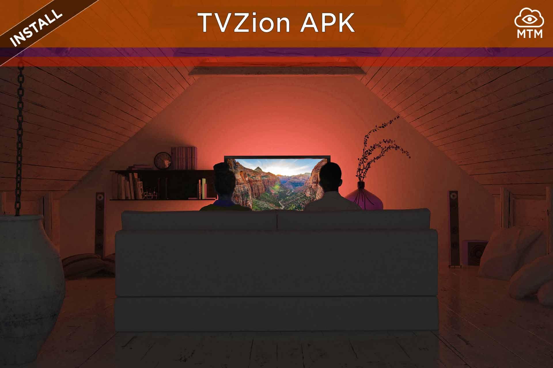 Deskargatu eta instalatu TVZion APK Doako Android Streaming aplikazioa Firestick-en