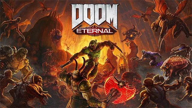 Doom Eternal 2020rako atzeratutako estreinaldiarekin