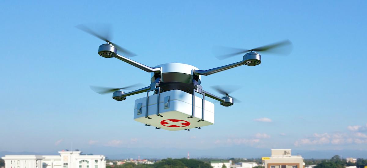 Drones medikoak Varsoviara hegan egingo dute.  Haien zeregina odola garraiatzea izango da