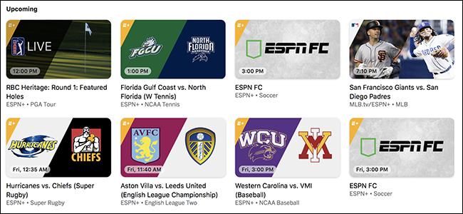 ESPN-k $5 Streaming zerbitzua, haien telebista kanalik gabe 1