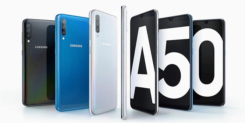 Eguneratze masiboak Ezaugarri berriak dakartza Samsung-i Galaxy A50