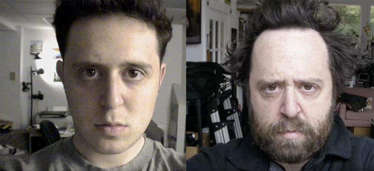 Egunero selfieak hartu zituen 20 urtez.  Simpsons ere inspiratu zuen