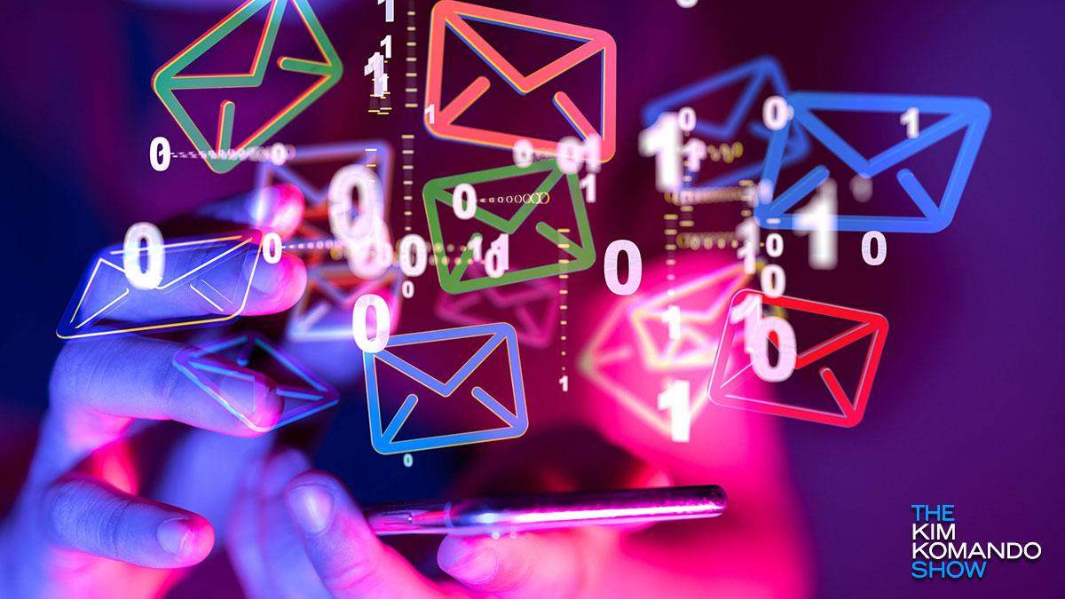 Enpresek zure mezu elektronikoak Google-rekin partekatzen harrapatu zuten, Pinterest, Facebook - ikusi zerrenda