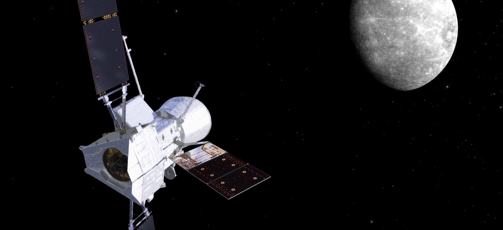 Entzun Lurra zure BepiColombo zundarekin Merkuriorantz
