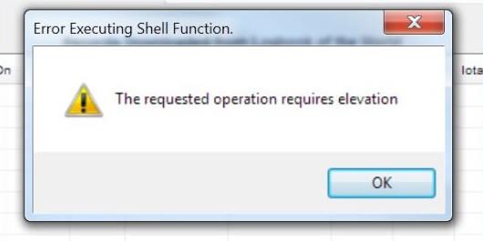 """Errorea konpontzea """"Prozesuak bertsio berritzea eskatzen du"""" - Errorea 740an Windows 10"""