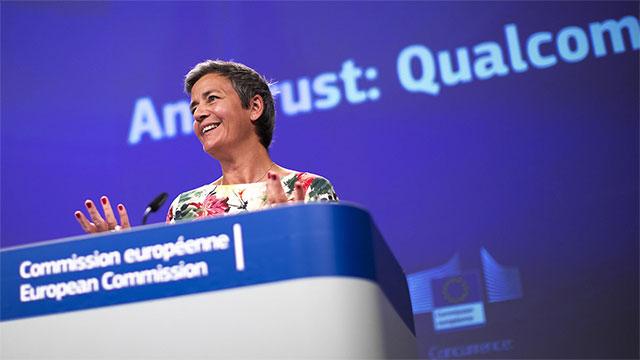 Europako Batzordeak 242 milioi euroko isuna jarri zion Qualcomm-i