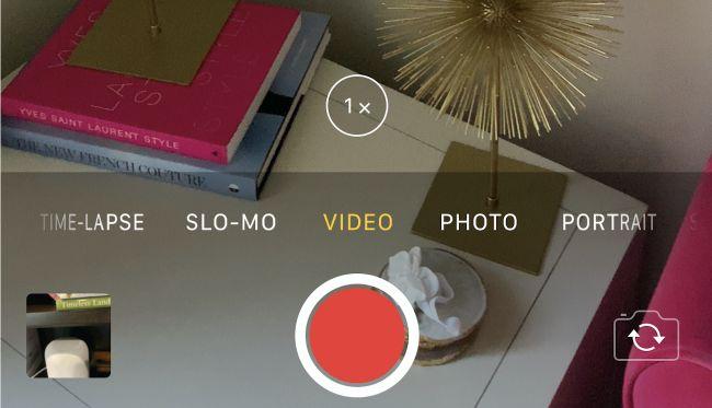 Ezarri honekin iPhone XS-en bideo hobeak grabatu 1