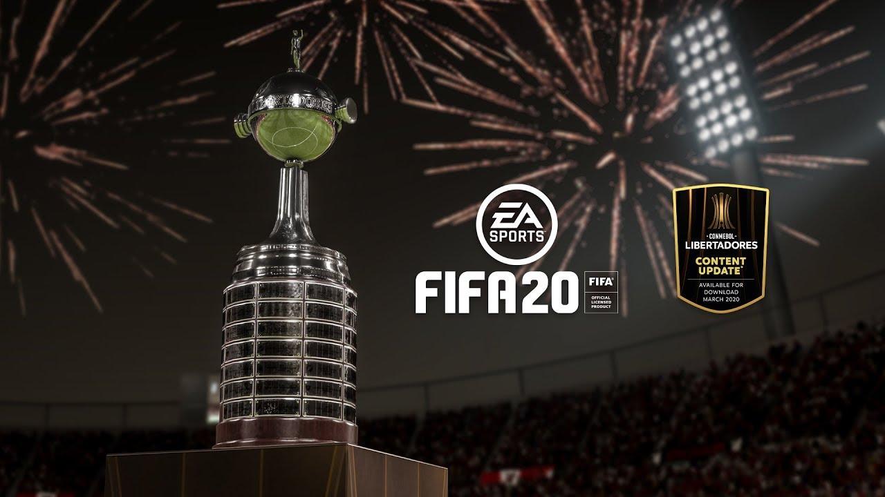 FIFA 20 CONMEBOL Libertadores eguneratzea kaleratu da
