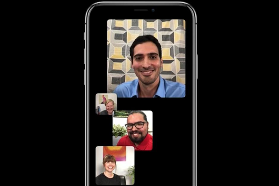 FaceTime taldea deitzeko funtzioa iOS 12 da.1 bidean