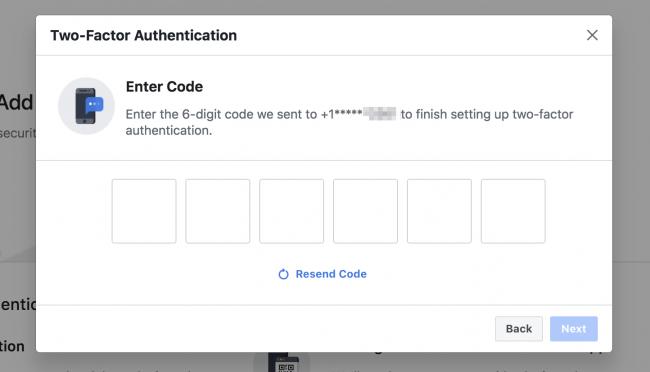 Facebook Bi faktoreren autentikazioa bertsio berritzen du: Hona hemen nola konfiguratu 2