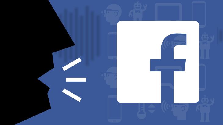 Facebook ahots bidezko aitorpen grabazioak ordaintzeko