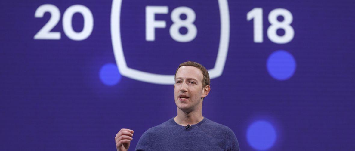 Facebook nahiago du pena izan baino.  Coronavirusagatik, maiatzeko F8 konferentzia bertan behera utzi zuen