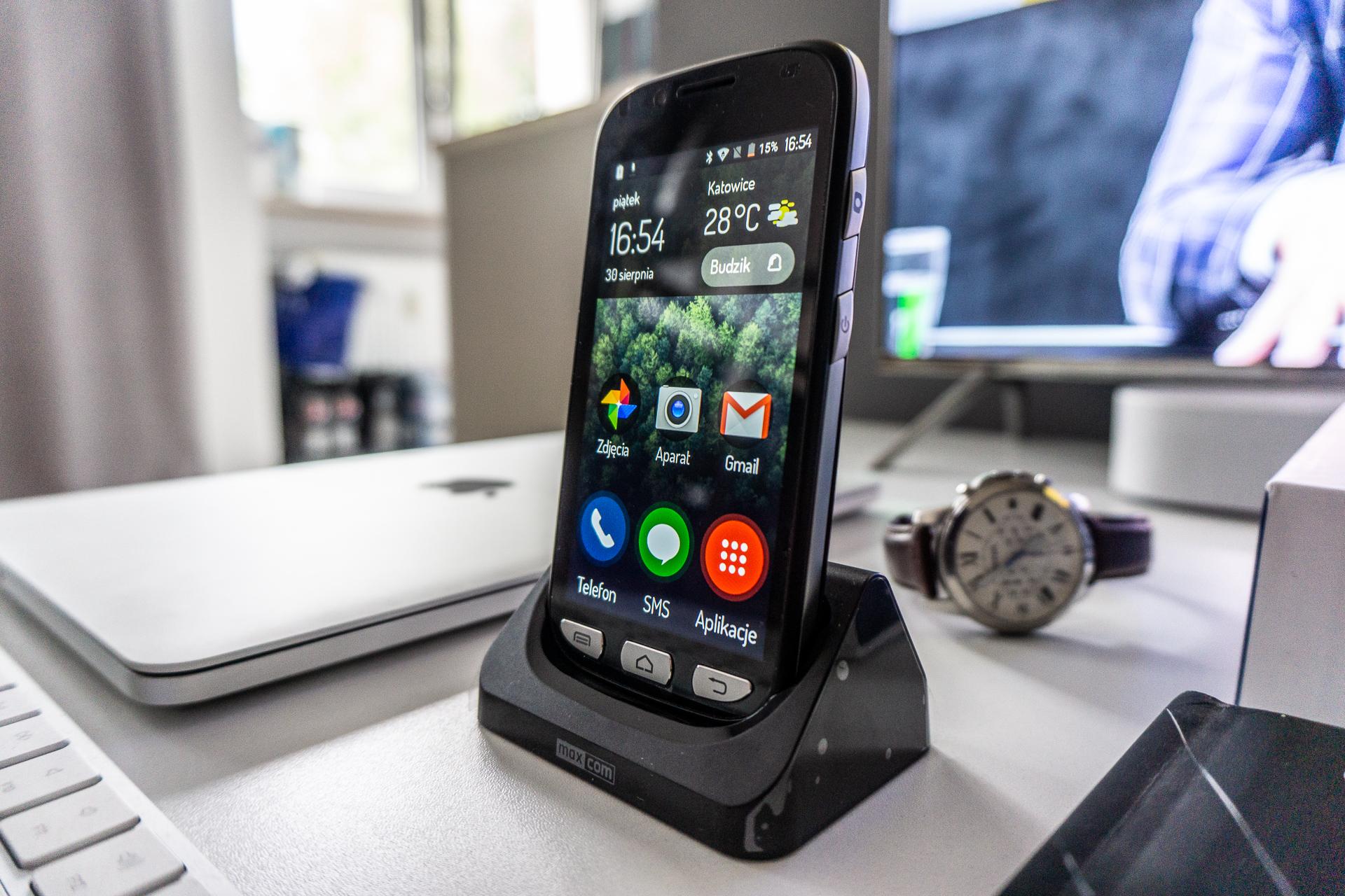 Fiasco baten ondoren Windows Adinekoentzako telefono bat aukeratzea telefonoa amesgaizto bat da.  Maxcom MS459 Harmony-k lagundu dit