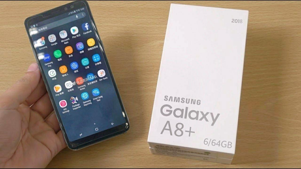 Galaxy A8 + 2018 Android Pie eguneratzea kaleratu da