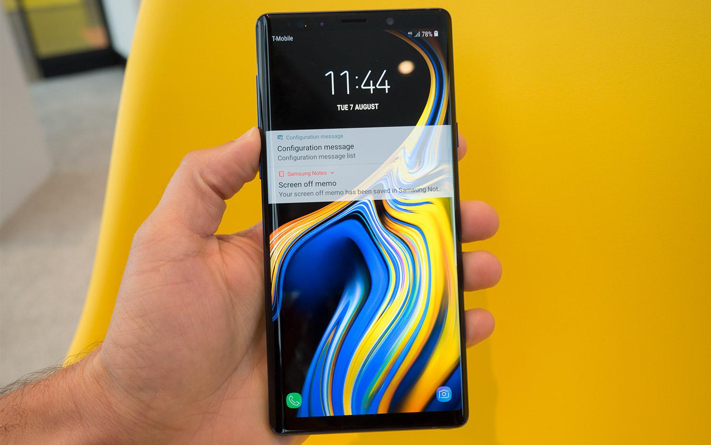 Galaxy Ohar 9 Android 10 eguneratzea kaleratu da