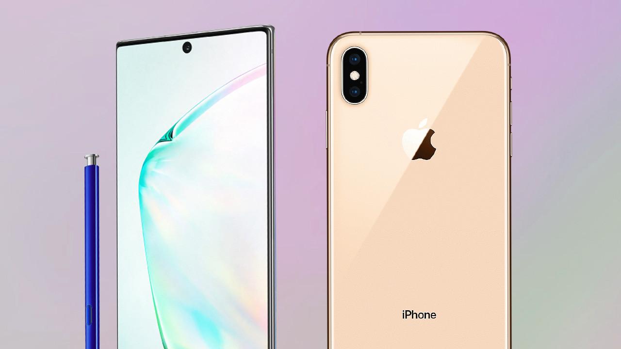 Galaxy Oharra 10+ vs iPhone XS Max kameraren konparazioa