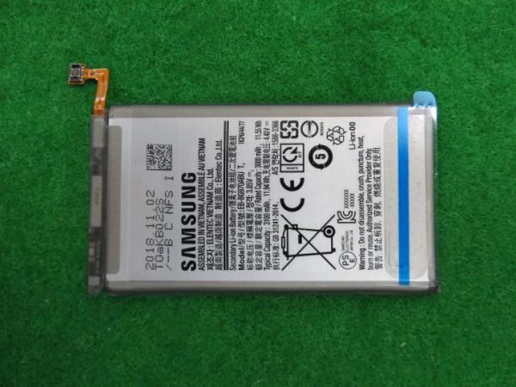 Galaxy S10 Lite bateriaren edukiera zehaztu da