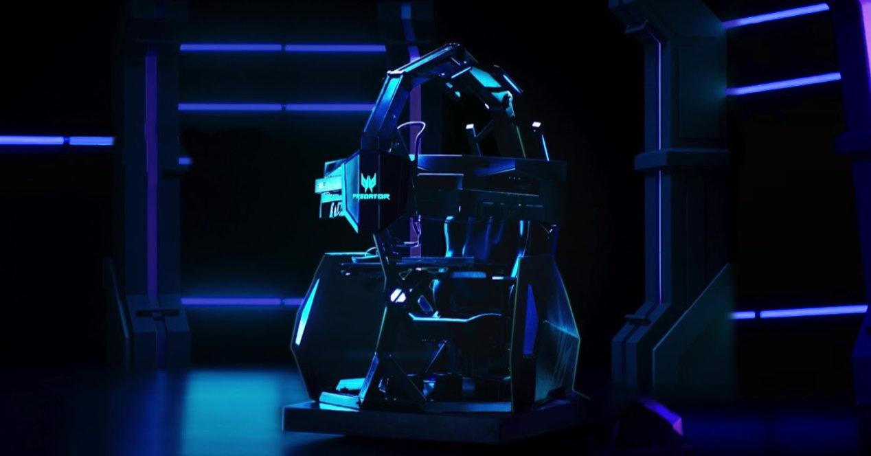Gamer batek nahi lukeen tronua: Predator Thronos Air Gaming aulkia
