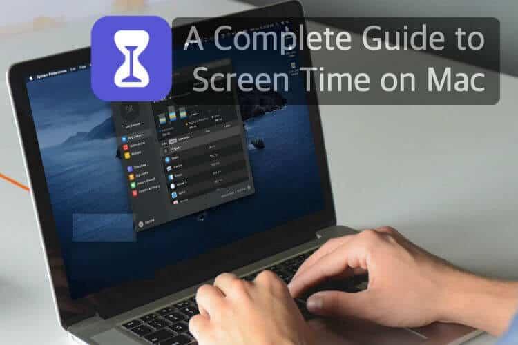 Gida osoa Screen Time Mac erabiltzeko