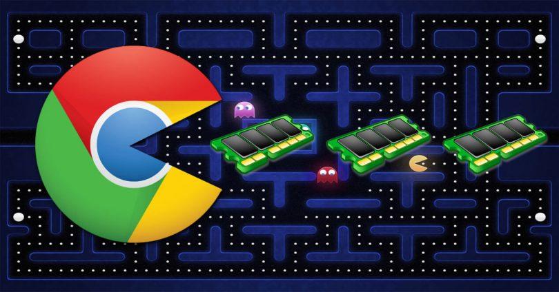 Google Chrome RAM piztia da!