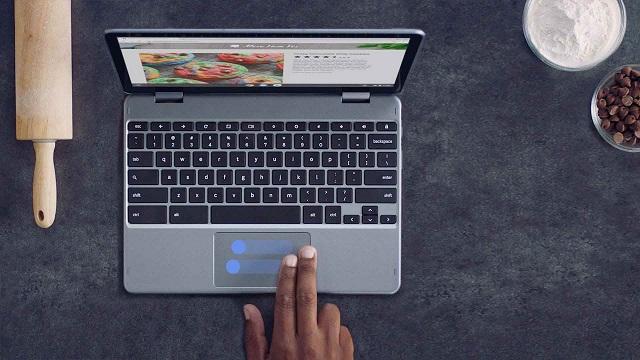 Google: Chromebook batzuk eguneratu egingo dira 8 urte