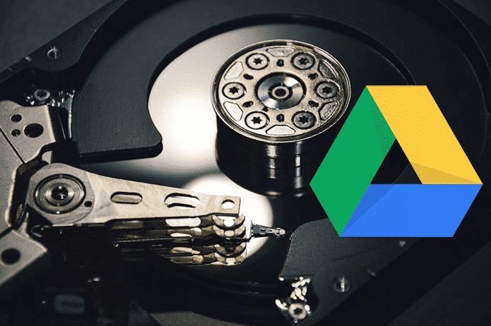 Google Drive biltegiratze gida: zer gertatzen da eta zer ez