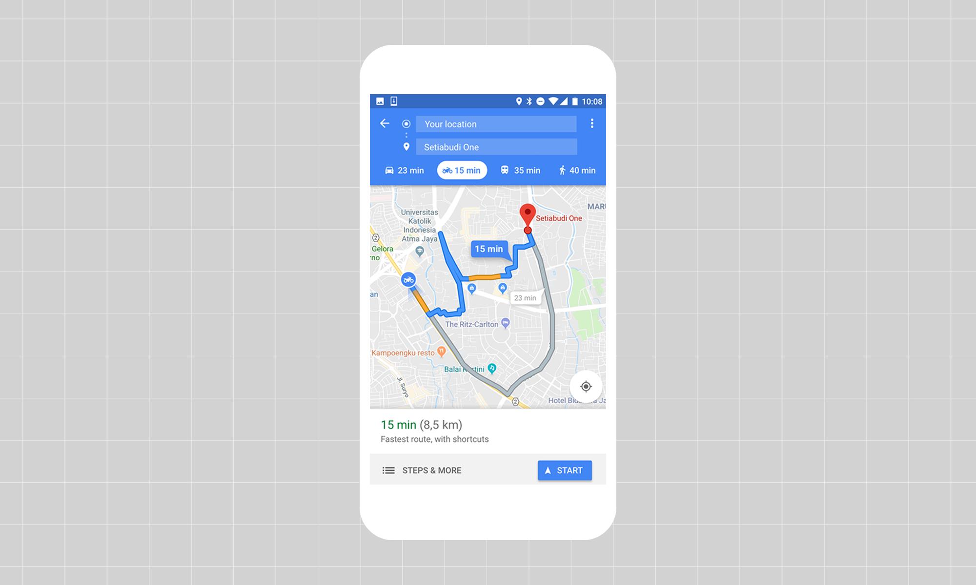 Google Maps eguneratu da funtzio berriekin!