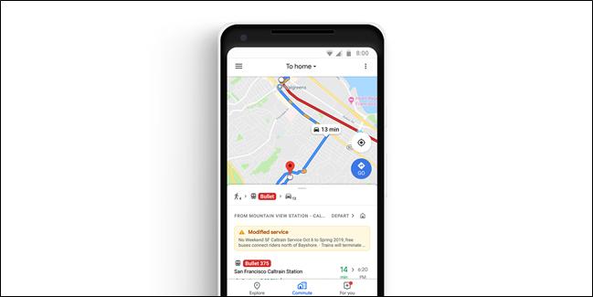 Google Maps-ek hobekuntza-aldaketak, Musika erreproduzitzailearen integrazioa hobetzen ari dira 1