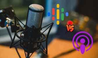Google Podcasts vs. Apple Podcastak: iPhonean funtzionatzen duen edozein aplikazio
