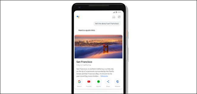 Google eguneratzen du telefonoetarako laguntzailea, ukipen-diseinu berriarekin 1