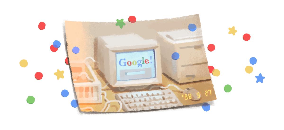 Google-k bere 21. urtebetetzea ospatzen du, Polonian zerbait gutxiago.  Ez dugu deskontuik lortu
