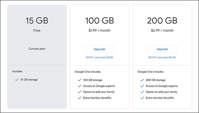 Google-k ez du biltegiratze gehiago eskaintzen 2013tik ... Guztiz zentzua du 1