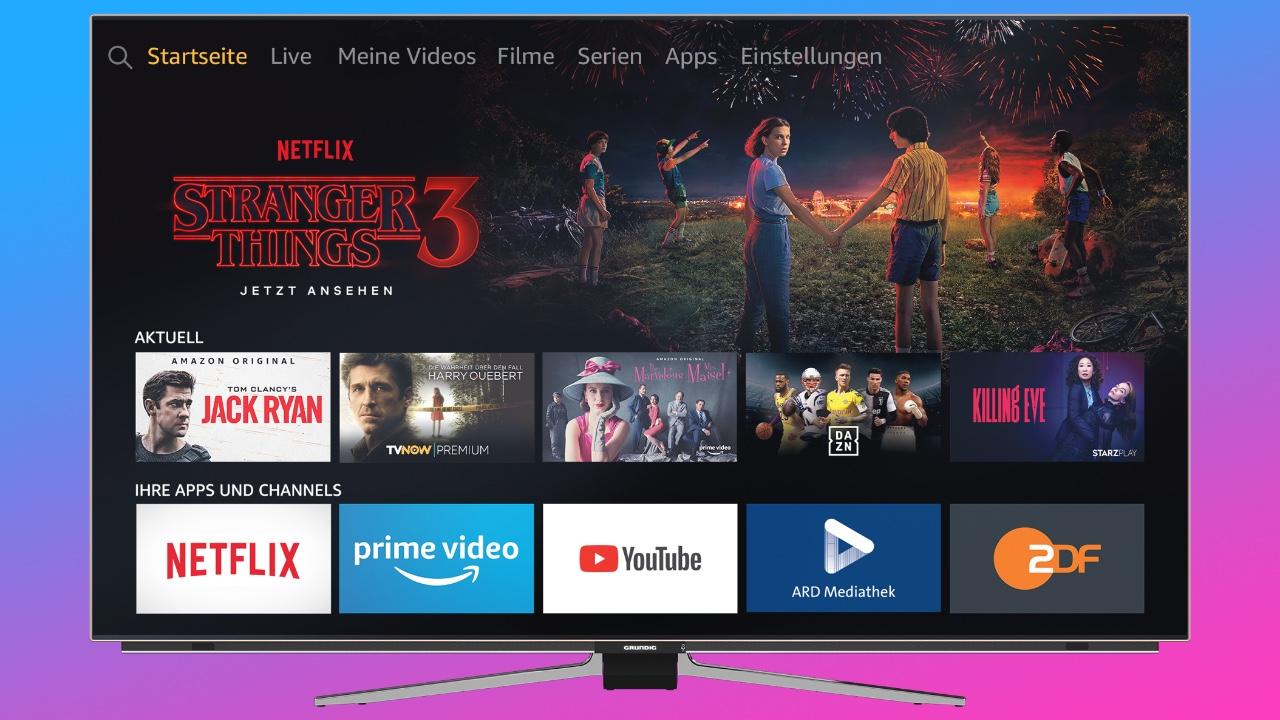 Grundig-eko Telebista OLED telebistako lehen eskuak