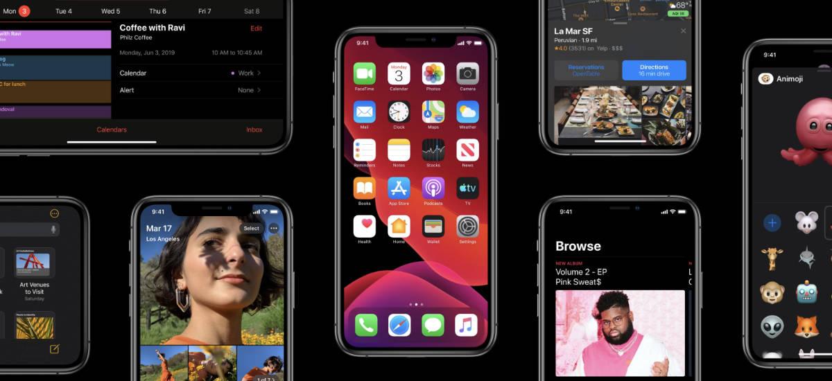 Hala ere, iOS 13. modu iluna aktibatzea merezi du. OLEDak dituzten iPhonetan energia asko aurrezten da