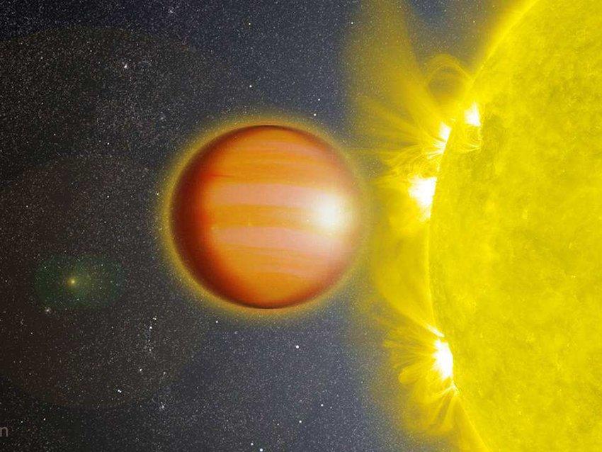 Han, urtea Lurrean egun bat baino laburragoa da.  NGTS-10b gas exoplaneten artean benetako sprinter bat da