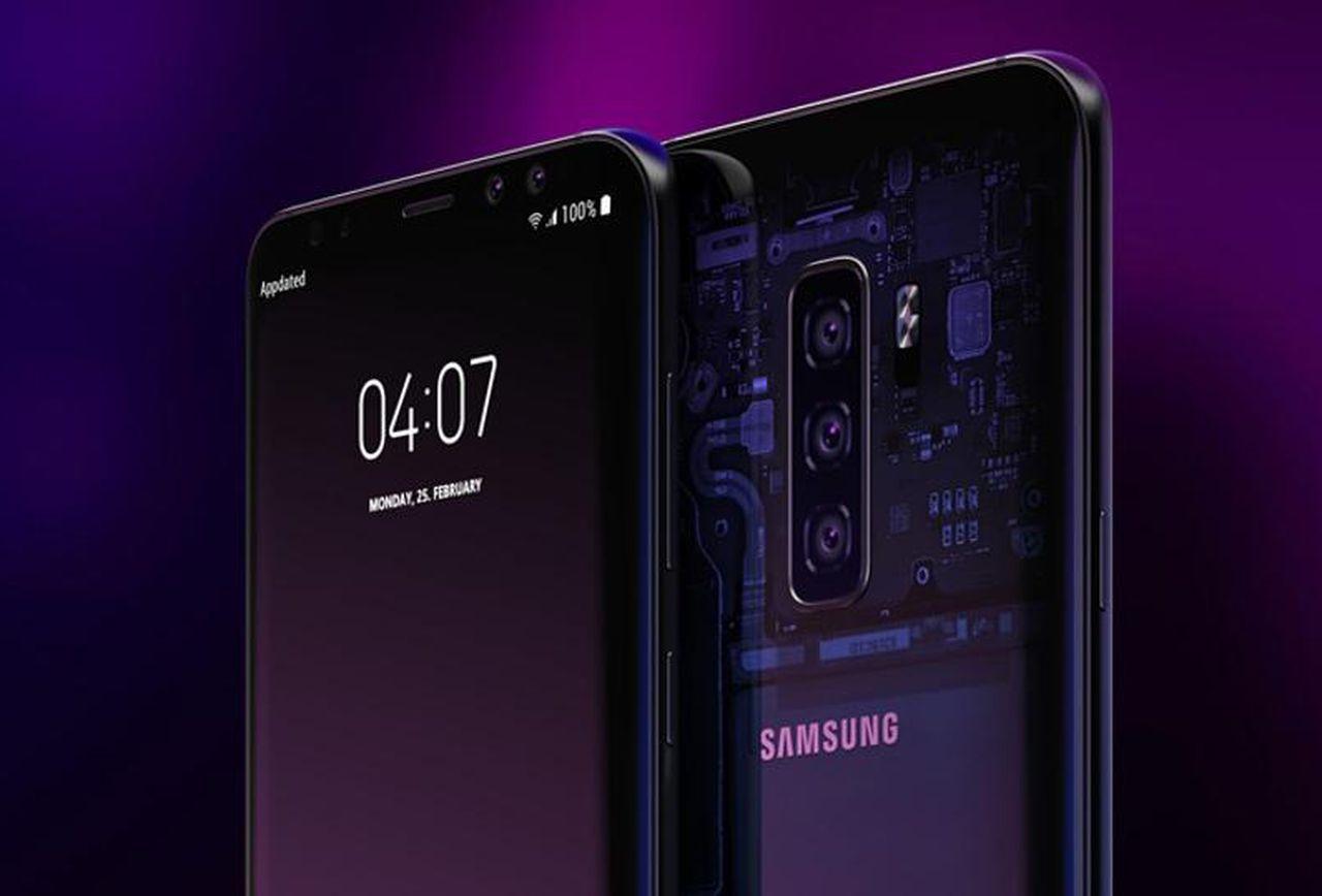 Hiru Galaxy S10 eredua marko berean!