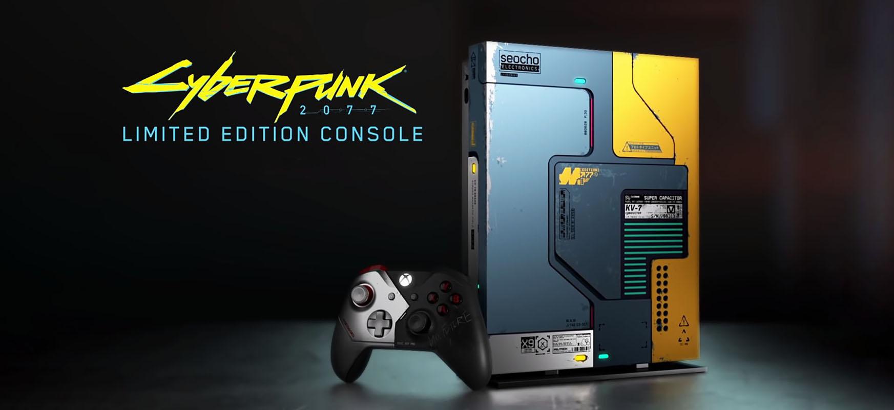 Horrela sortu zen Xbox One X Cyberpunk 2077 Edition.  Bideo berezia argitaratu da